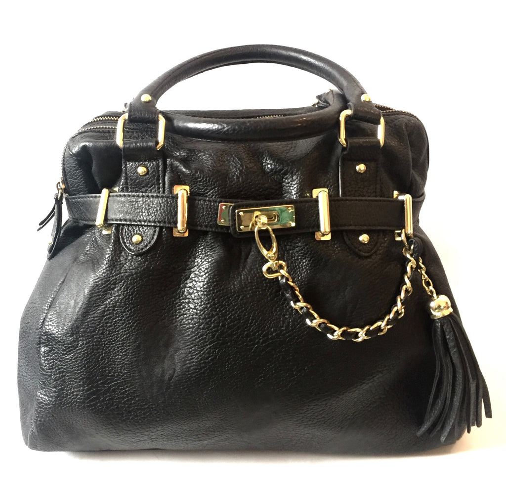 Steve Madden Black Tote Bag | Pre Loved |