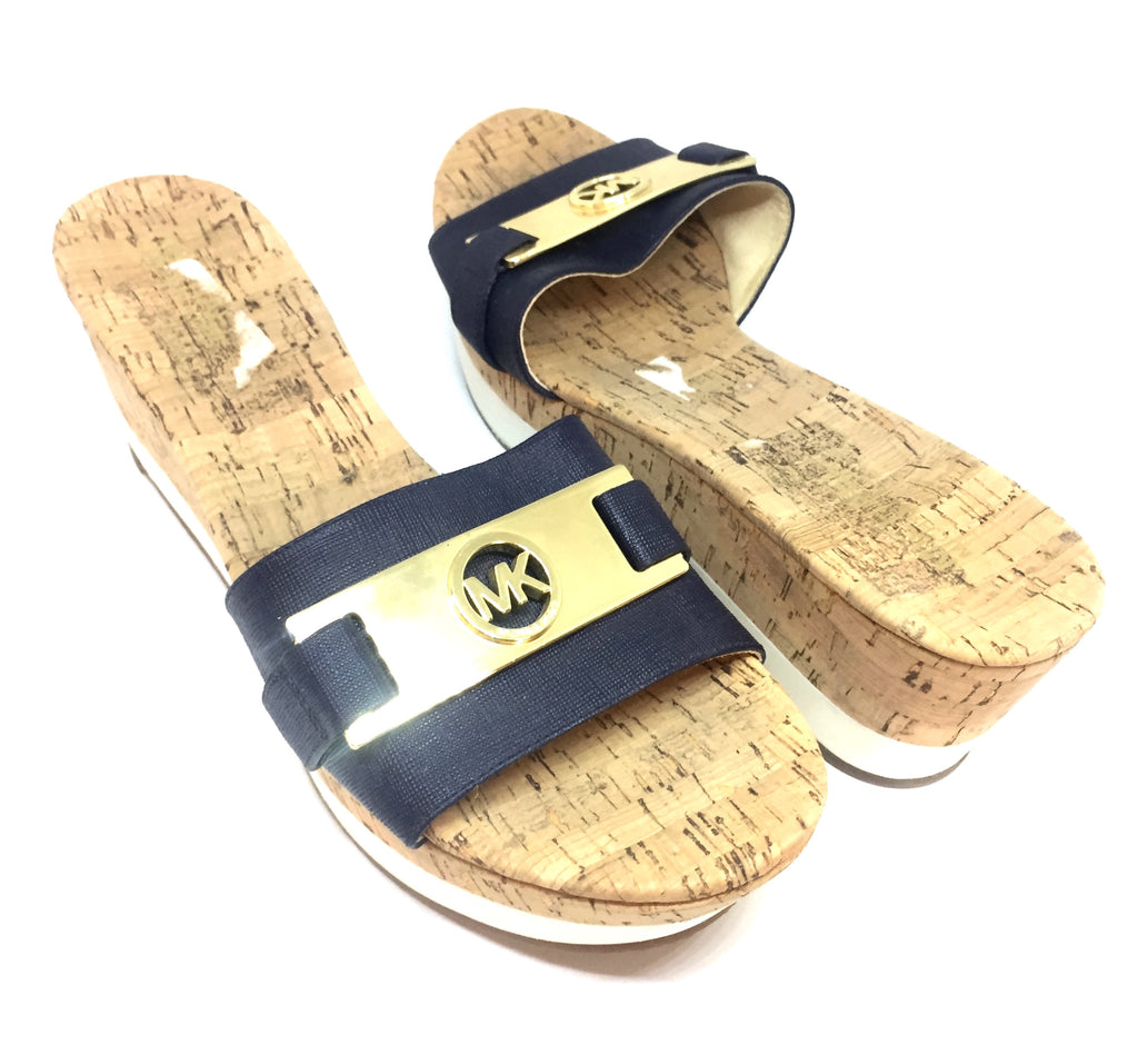 MICHAEL Michael Kors Single Strap Wedges | Brand New |
