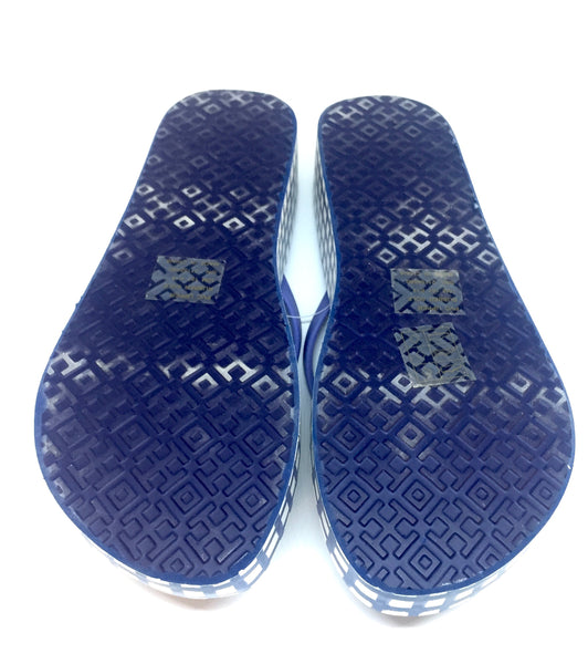 Tory Burch Printed Wedge Flip Flops | Brand New |