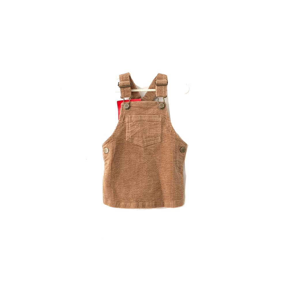 Next Brown Corduroy Overalls | Brand New |
