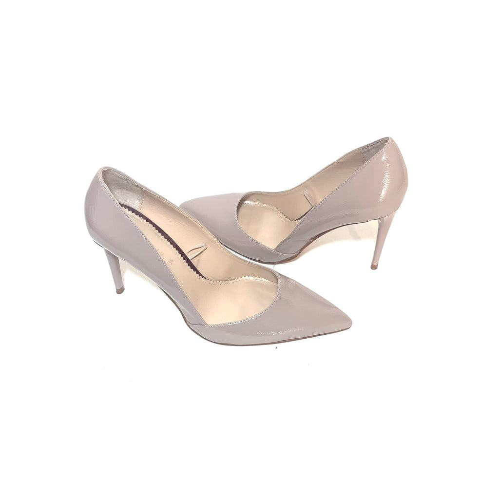 ZARA Taupe Pointed Pumps | Gently Used |