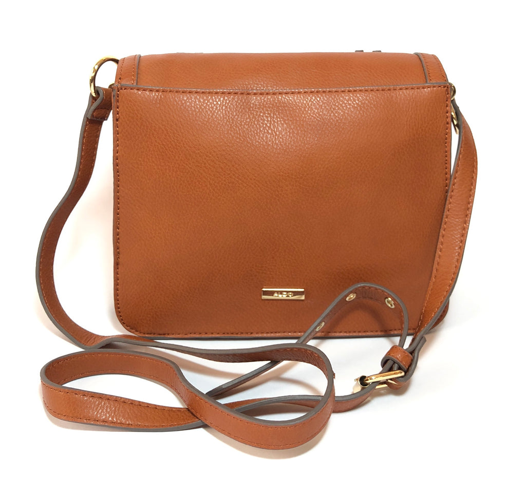 ALDO Brown Laser Cut Cross Body Bag | Brand New | - Secret Stash