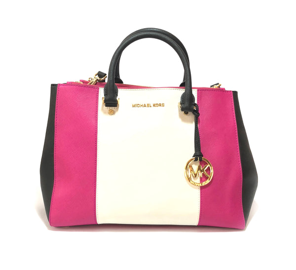 Michael Kors Tricolor Leather Selma Bag | Gently Used |