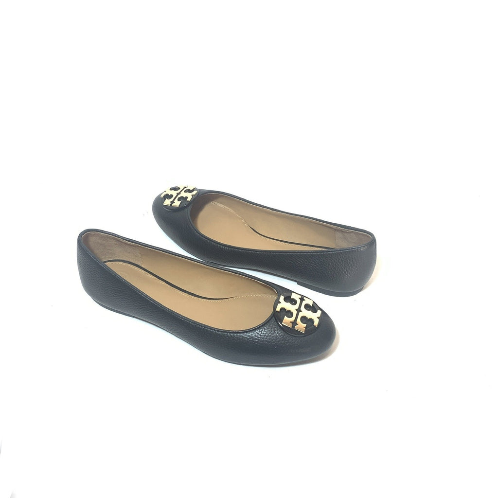 Tory Burch Black 'Claire' Ballet Flats | Brand New |