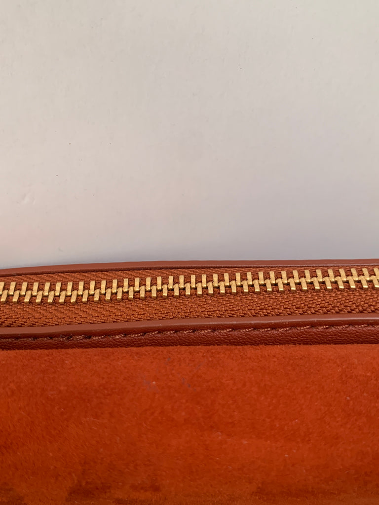 Charles & Keith Orange Studded Cross Body Bag | Brand New |