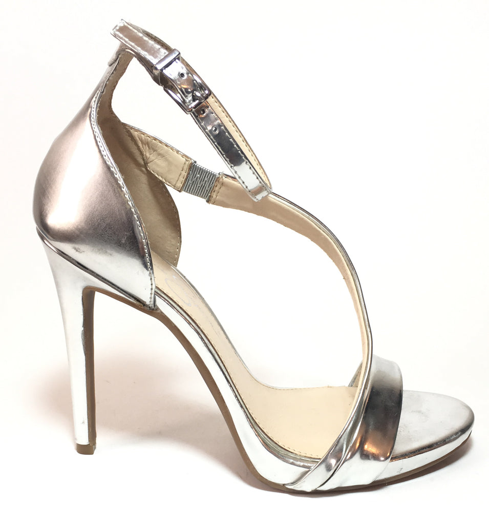 db163cf973c352 ... Jessica Simpson Silver Strappy D ORSAY Heels