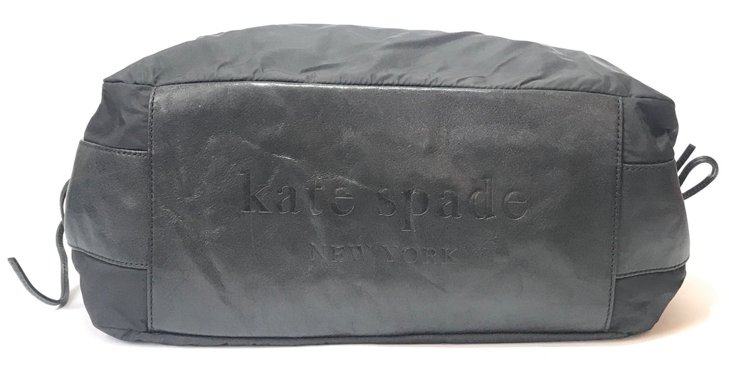 Kate Spade Black Nylon Shoulder Bag  | Pre Loved |