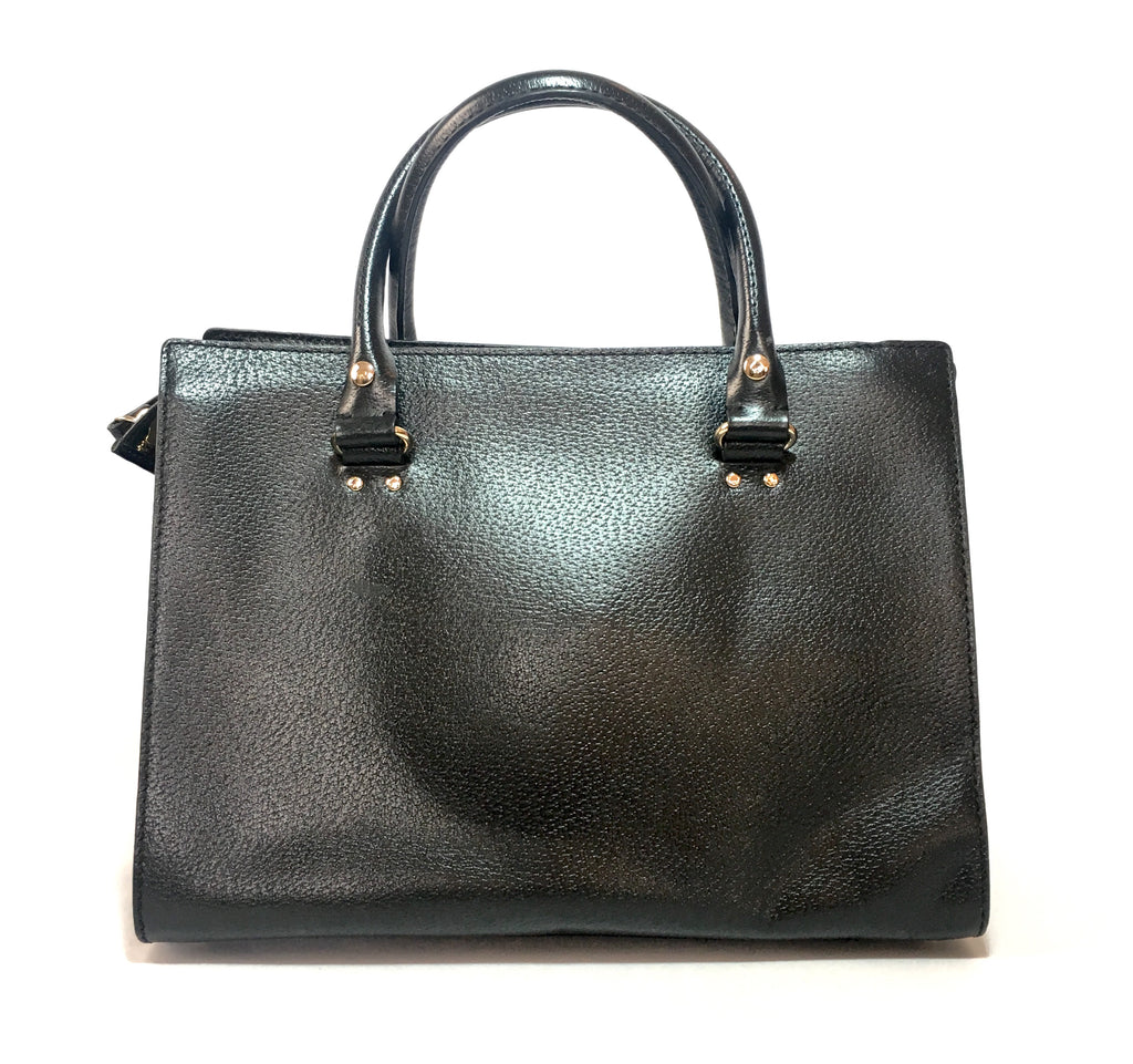 Kate Spade Wellesley Durham Black Leather Tote | Gently Used |