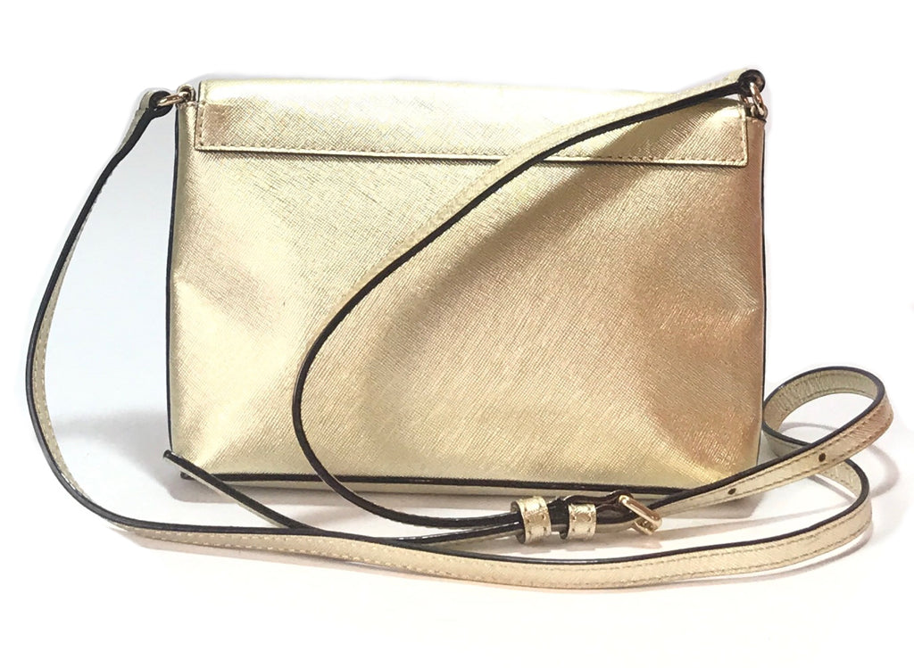 Kate Spade Cedar Street Monday Envelope Gold Cross Body Bag | Gently Used |