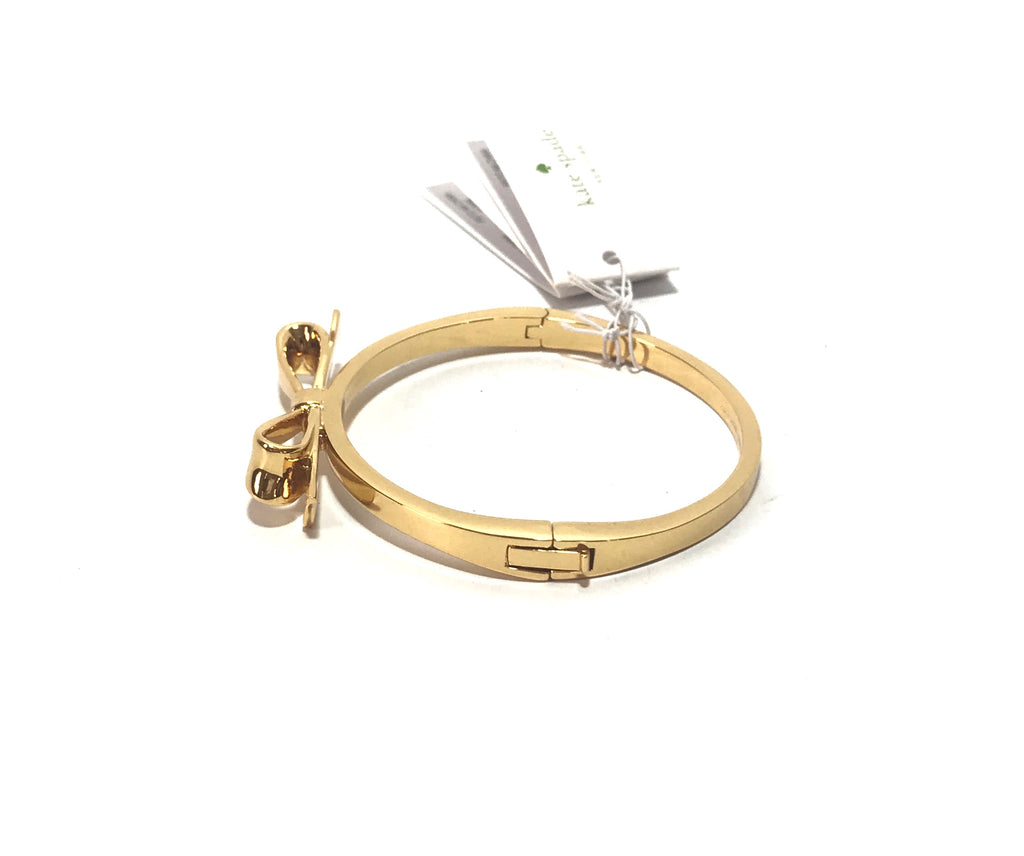 Kate Spade Gold Bow Bangle | Brand New |