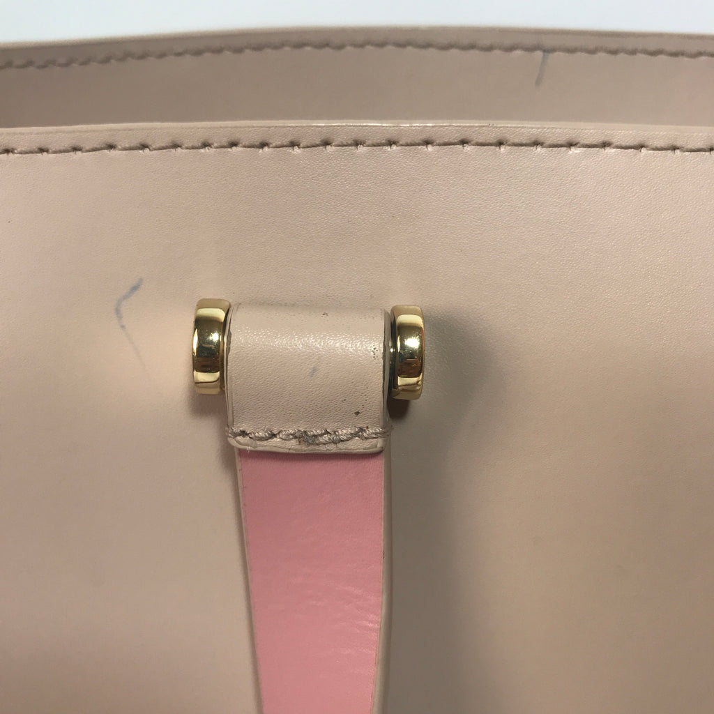 Kate Spade Mauve Leather Satchel | Pre Loved |