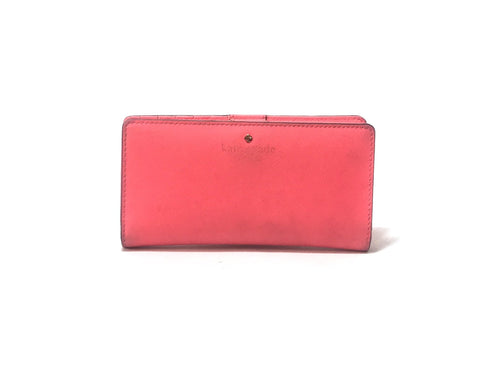 Kate Spade Stacy Leather Wallet | Pre Loved |