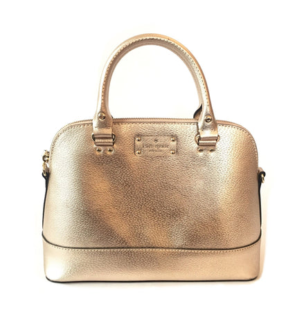 Kate Spade Rose Gold 'Wellesley Rachelle' Satchel | Like New |