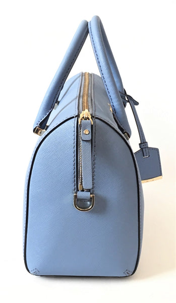 Kate Spade Tile Blue Cameron Street Large Lane Satchel | Gently Used |