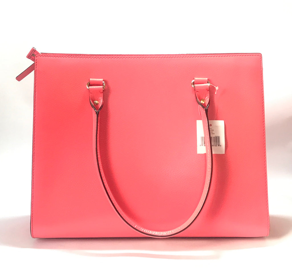 Kate Spade 'Kory Wellesley' Flamingo Tote | Brand New |
