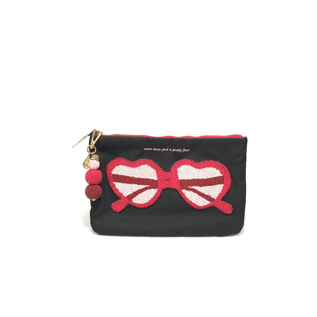 Kate Spade 'More Than Just A Pretty Face' Clutch | Like New |