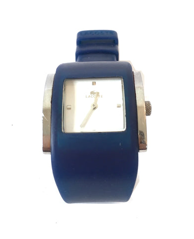 Lacoste Blue Silicone Wristband Watch | Pre Loved |