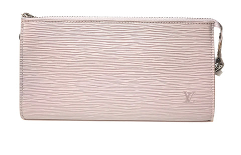 Louis Vuitton Epi Leather Accessories 24 Pochette Lilac Mini Bag | Like New |