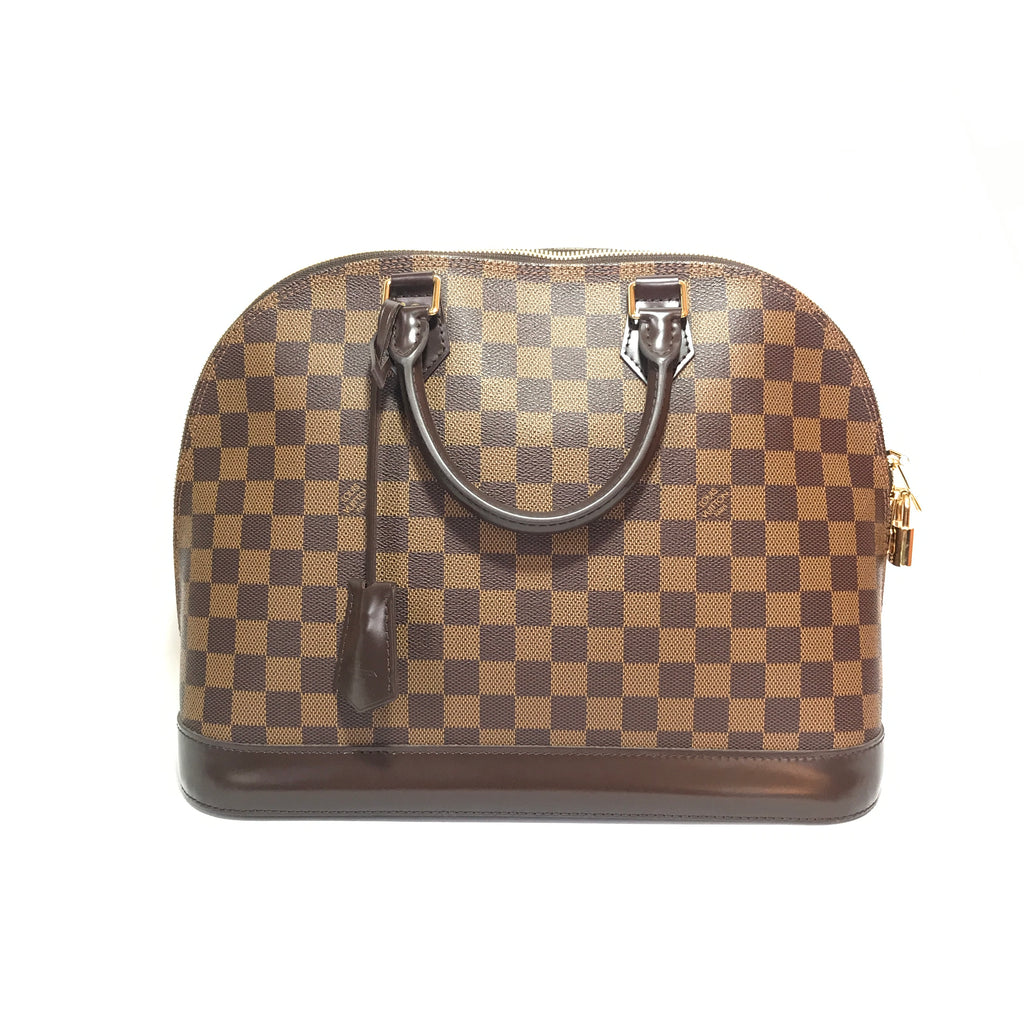 LOUIS VUITTON Damier Alma MM Bag | Like New |