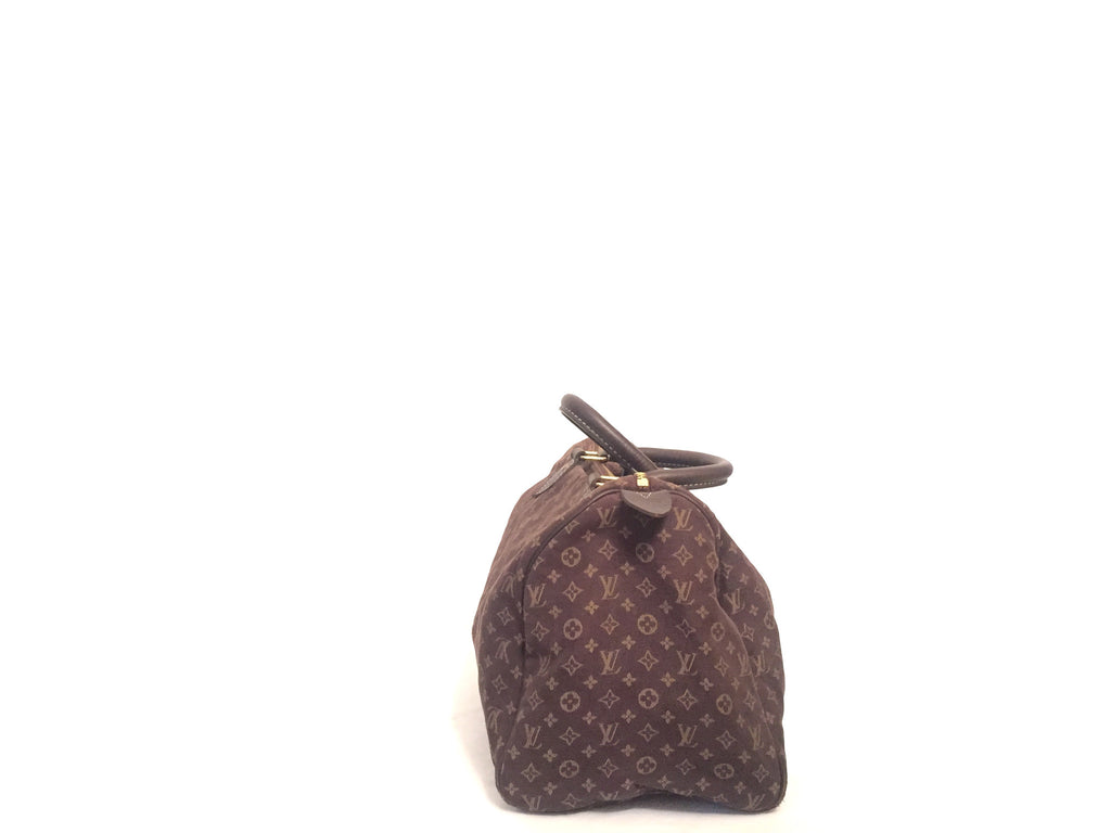 Louis Vuitton Mini Lin Speedy 30 | Pre Loved | - Secret Stash