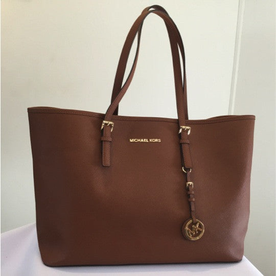 Michael Kors Tan Saffiano Tote - Secret Stash