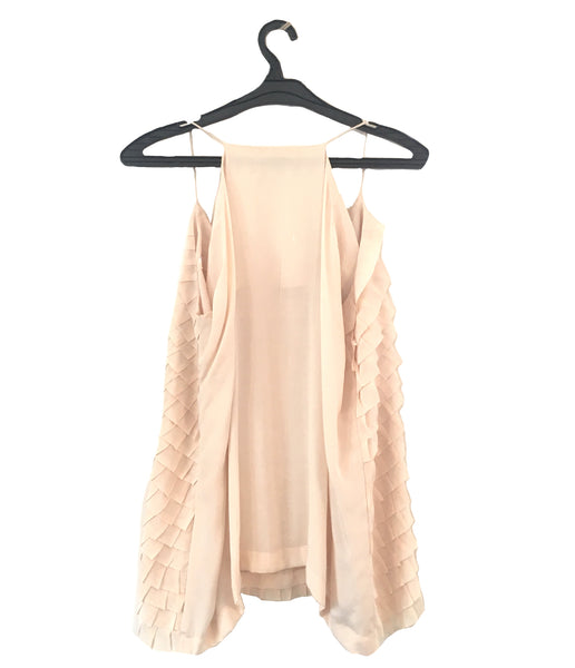 Menahel and Mehreen Blush Pink Top & Coat | Brand New |