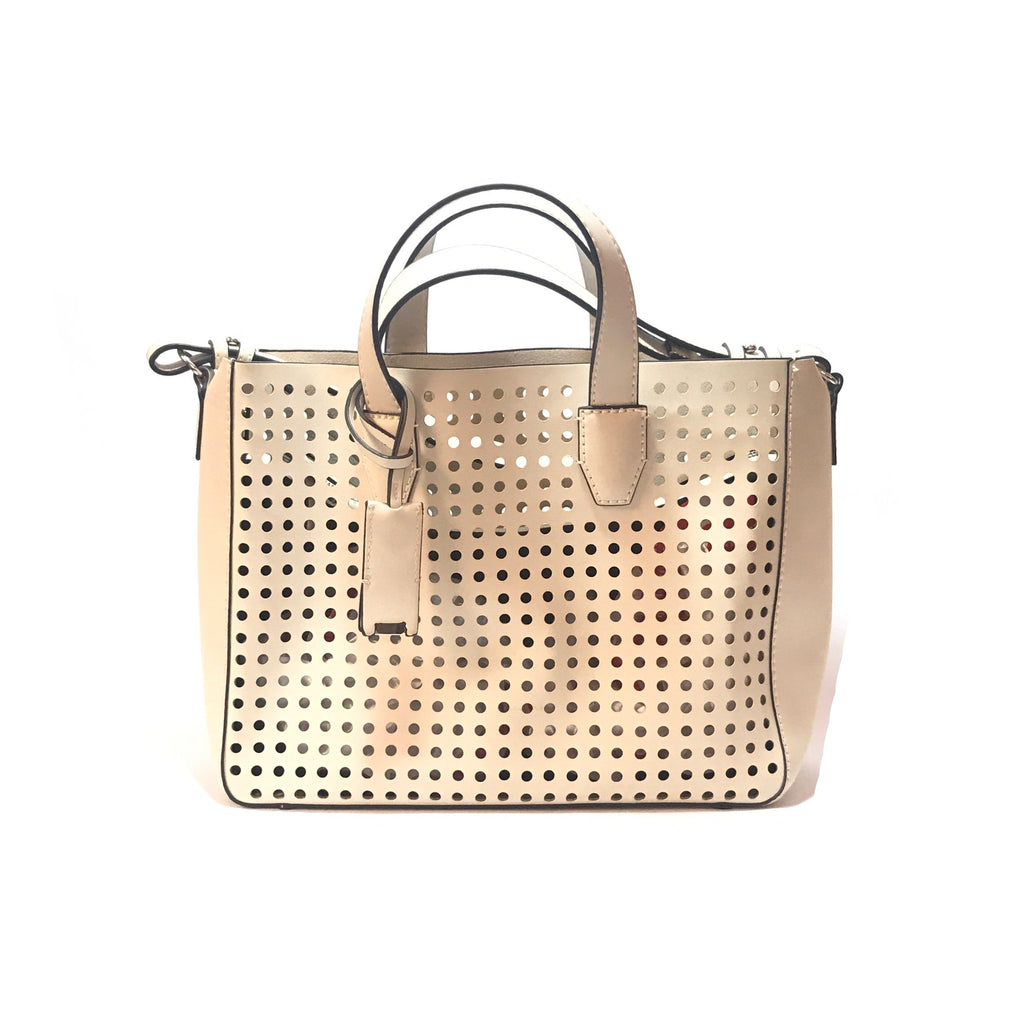 Mango Cream Laser-Cut Tote Bag | Gently Used |