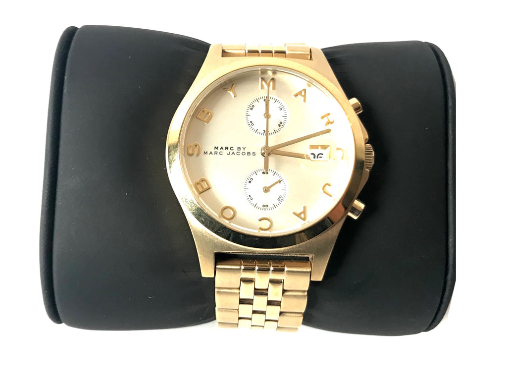 MARC by Marc Jacobs Gold Stainless Steel Watch | Gently Used |