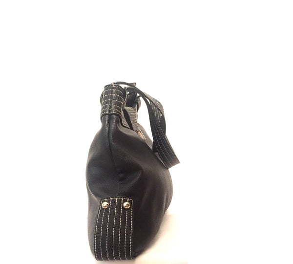 Perllini & Mel Black Shoulder Bag | Pre Loved | - Secret Stash
