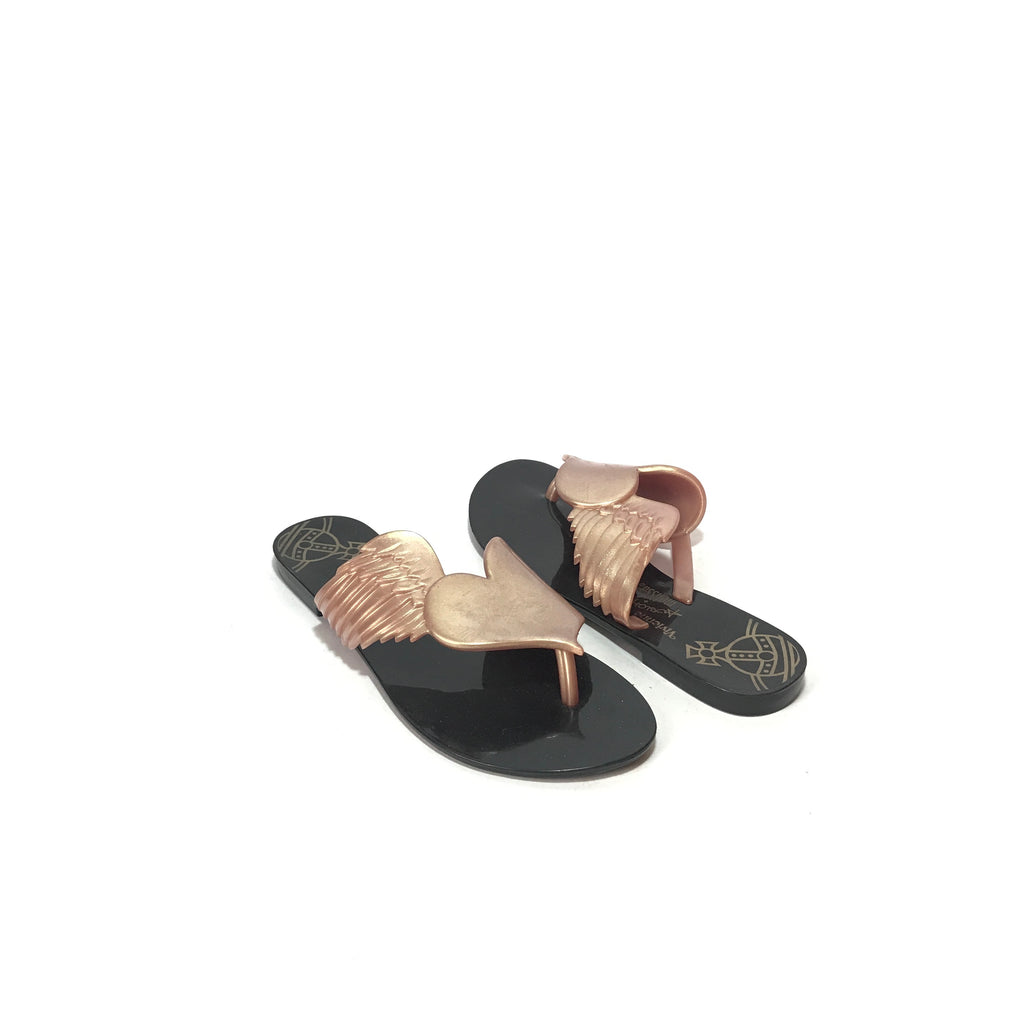 Melissa x Vivianne Westwood Heart Sandals | Like New |