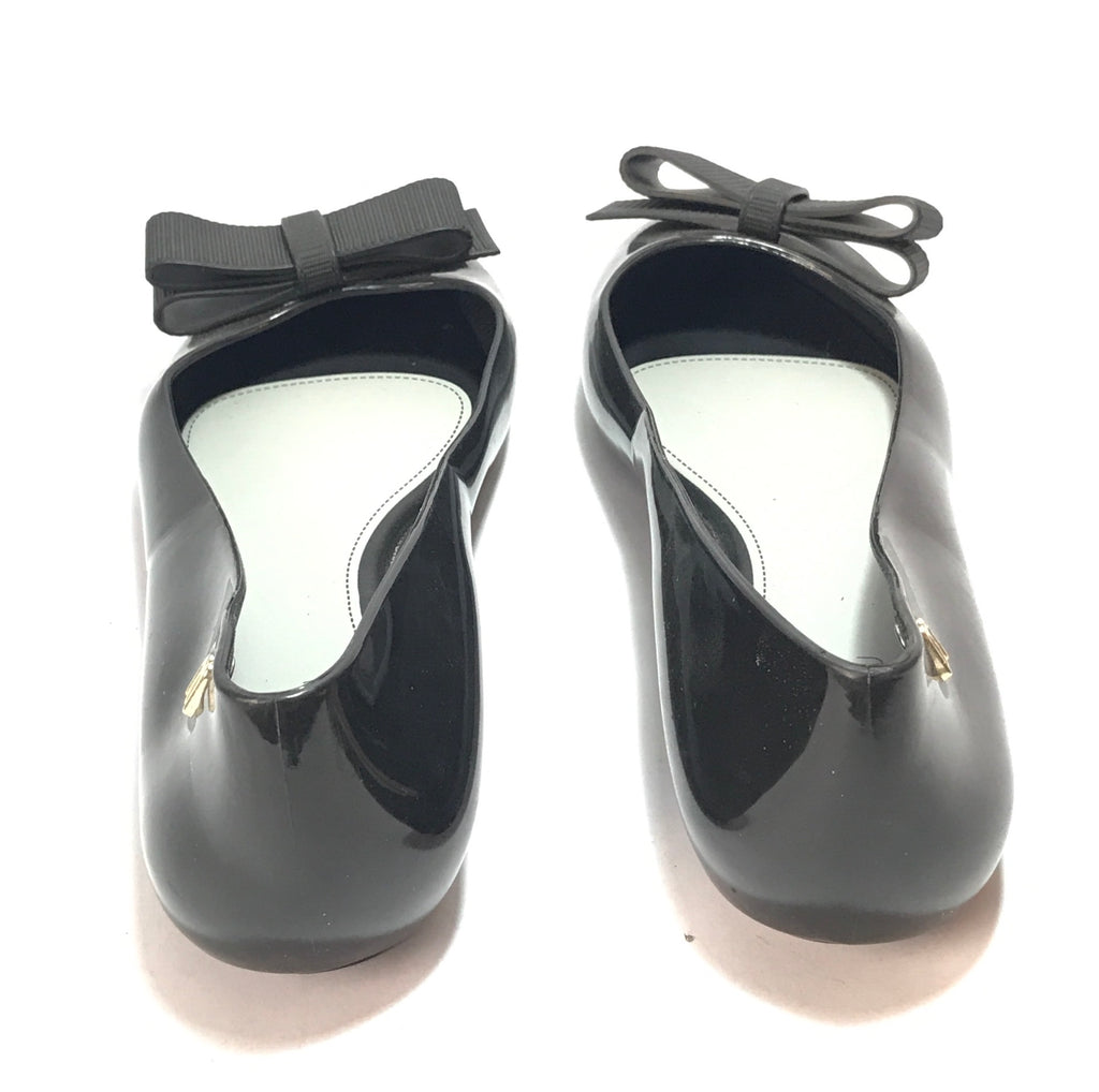 Melissa X Jason Wu Black Bow Ballet Flats | Like New |