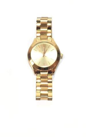Michael Kors MK3512 Gold Women's Bracelet Watch | Like New |