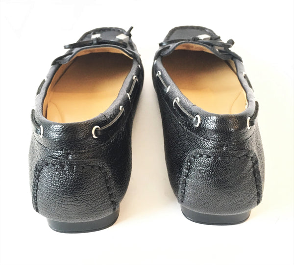 Michael Kors Black Leather Loafers | Like New |