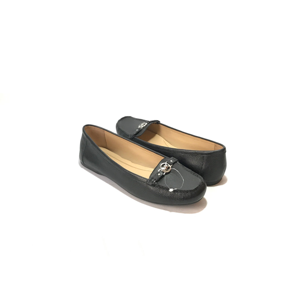 Michael Kors Black Leather Loafers | Brand New |