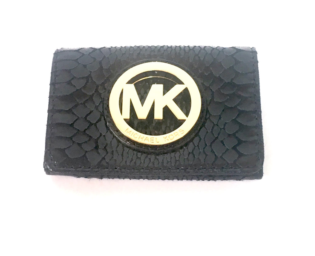 MICHAEL Michael Kors 'FULTON' Leather Card Case | Like New |