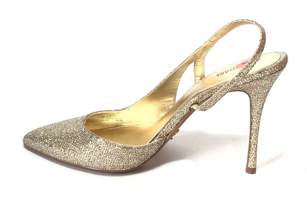 Michael Kors Gold Glitter Pumps | Brand New |