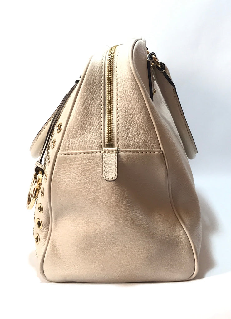 Michael Kors Gold Stud 'Grommet' Tote | Like New |
