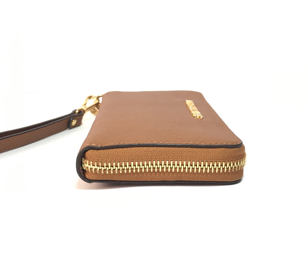 MICHAEL Michael Kors Jet Set Travel Saffiano Leather Continental Wallet | Gently Used |