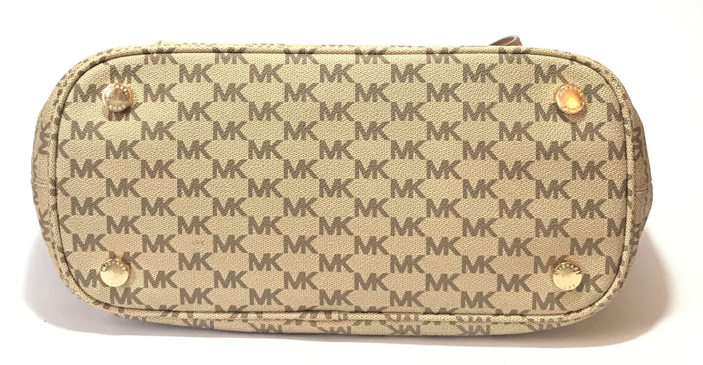 Michael Kors Monogram Jet Set Tote | Gently Used |