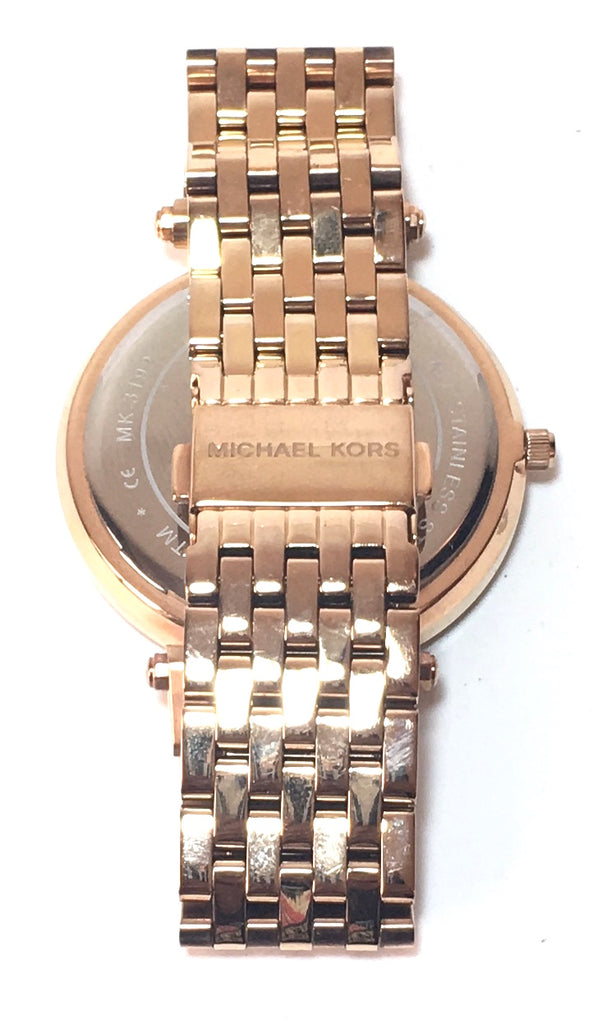 Michael Kors Rose Gold Darci 3192 Watch | Gently Used |
