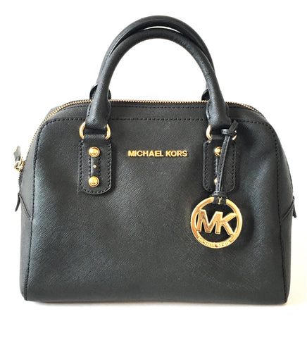 Michael Kors Black Saffiano Leather Small Tote | Pre Loved |