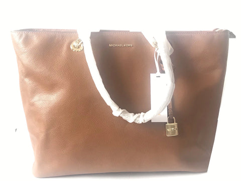 MICHAEL Michael Kors Studio MERCER Large Leather Tote | Brand New |