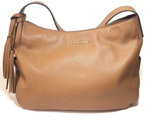 Michael Kors Tan Leather 'Ashbury' Large Shoulder Bag | Gently Used |