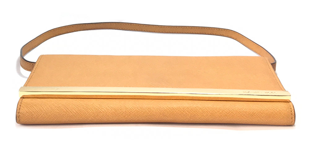 Michael Kors Tan Clutch | Pre Loved |