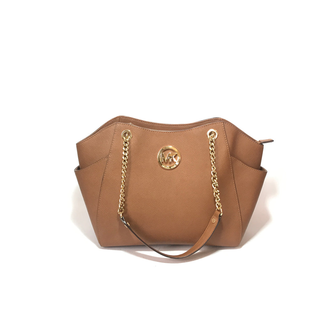 Michael Kors Tan 'Jet Set Chain' Shoulder Bag | Gently Used |