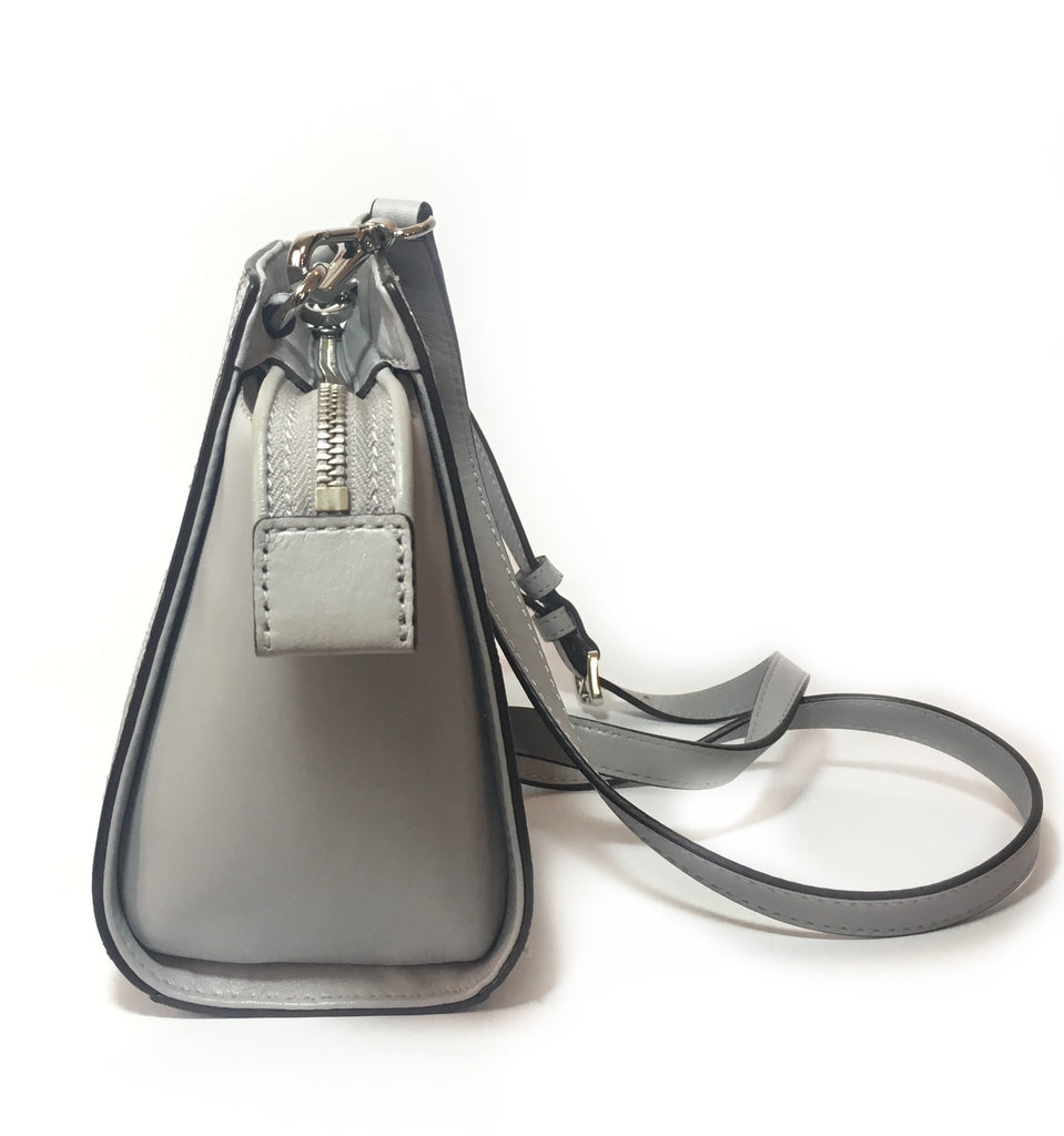 Michael Kors Grey Small SELMA Cross Body Bag  | Gently Used |