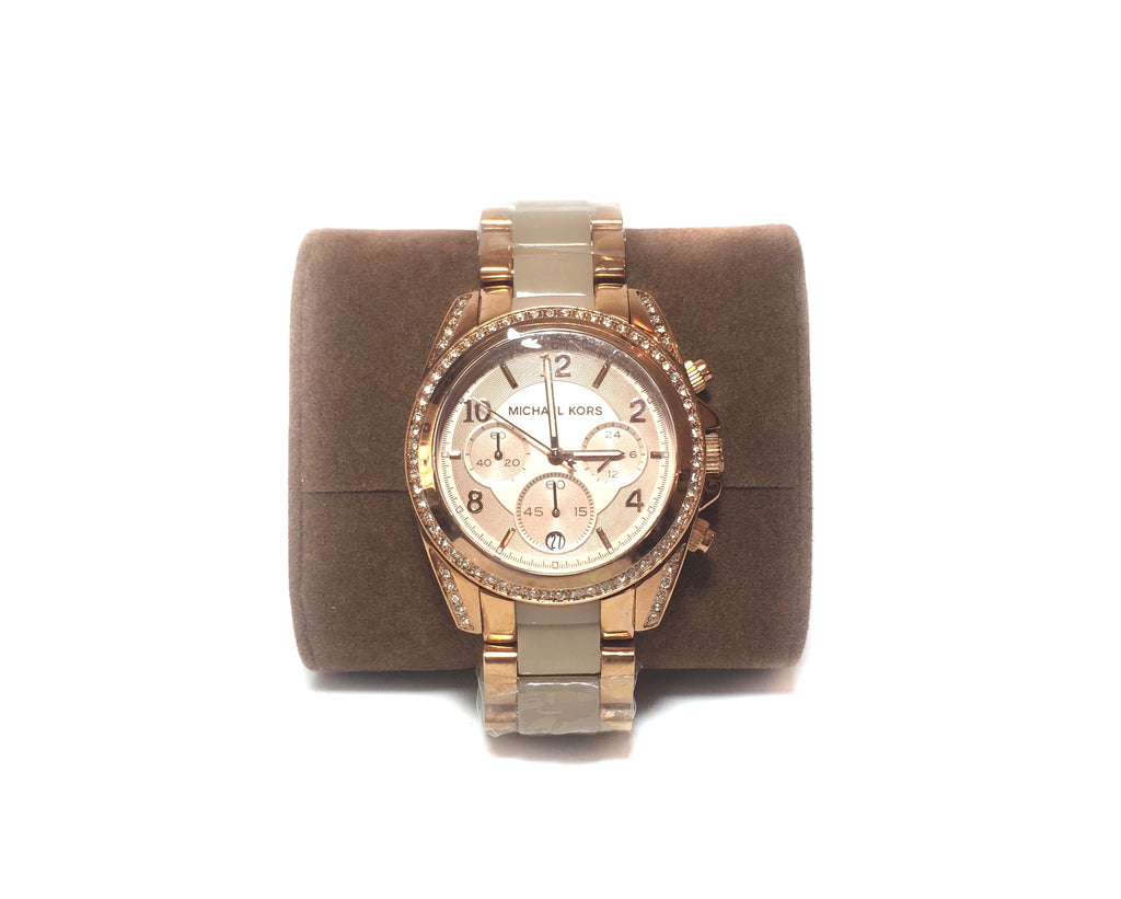 Michael Kors MK5943 BLAIR Chronograph Watch | Brand New |