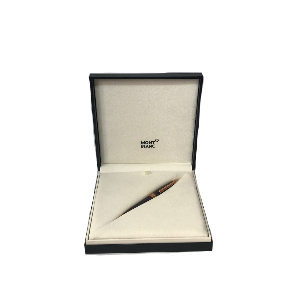 MONTBLANC Limited Edition 'Meisterstück' 90 Years Classique Rose Gold Trim Ballpoint Pen | Brand New |
