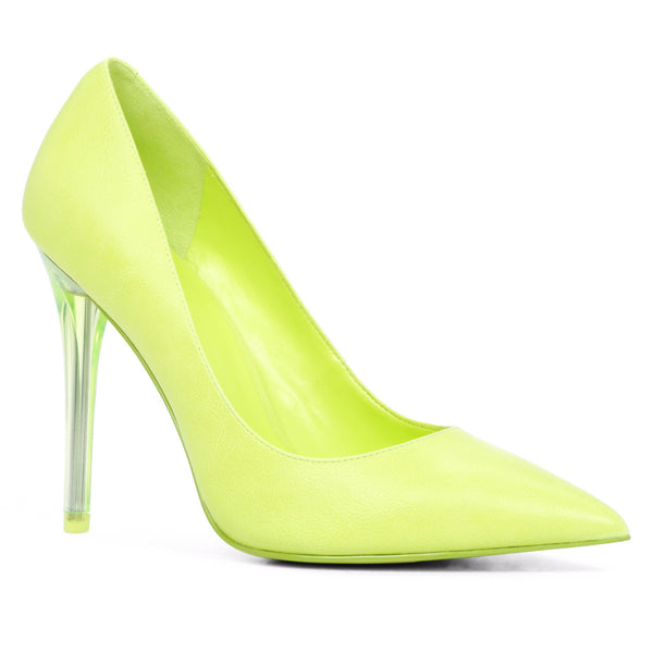 ALDO SHOES Neon Green 'NIKA' Pointed Pumps | Gently Used | - Secret Stash