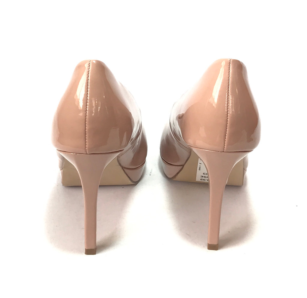 New Look Nude Patent Pumps | Brand New |